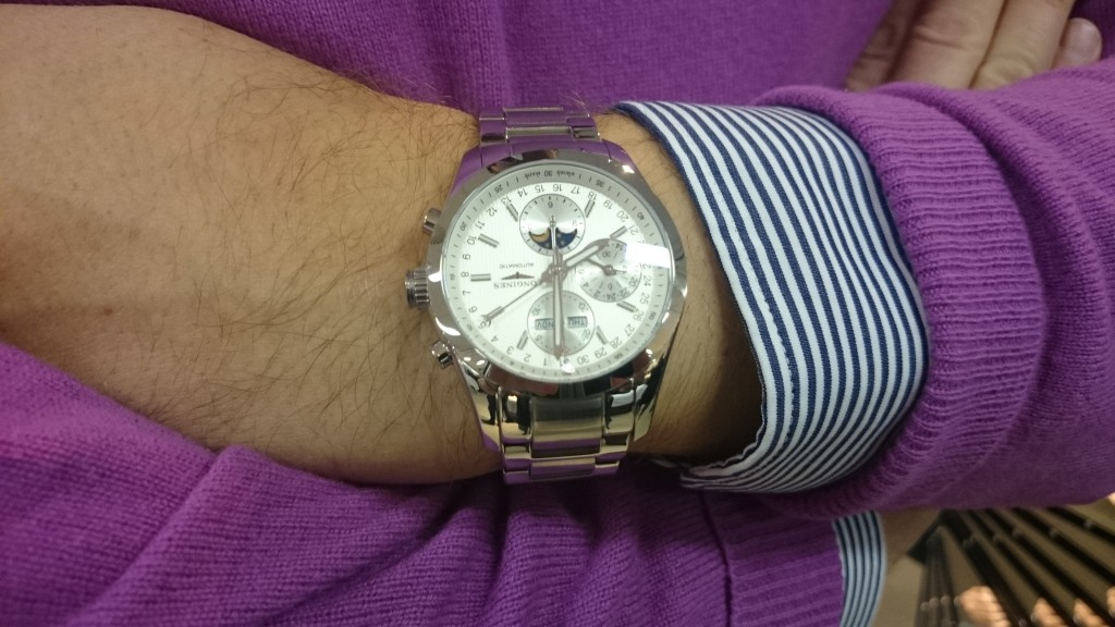 Todays Wristshot: Longines Conquest Classic Moonphase