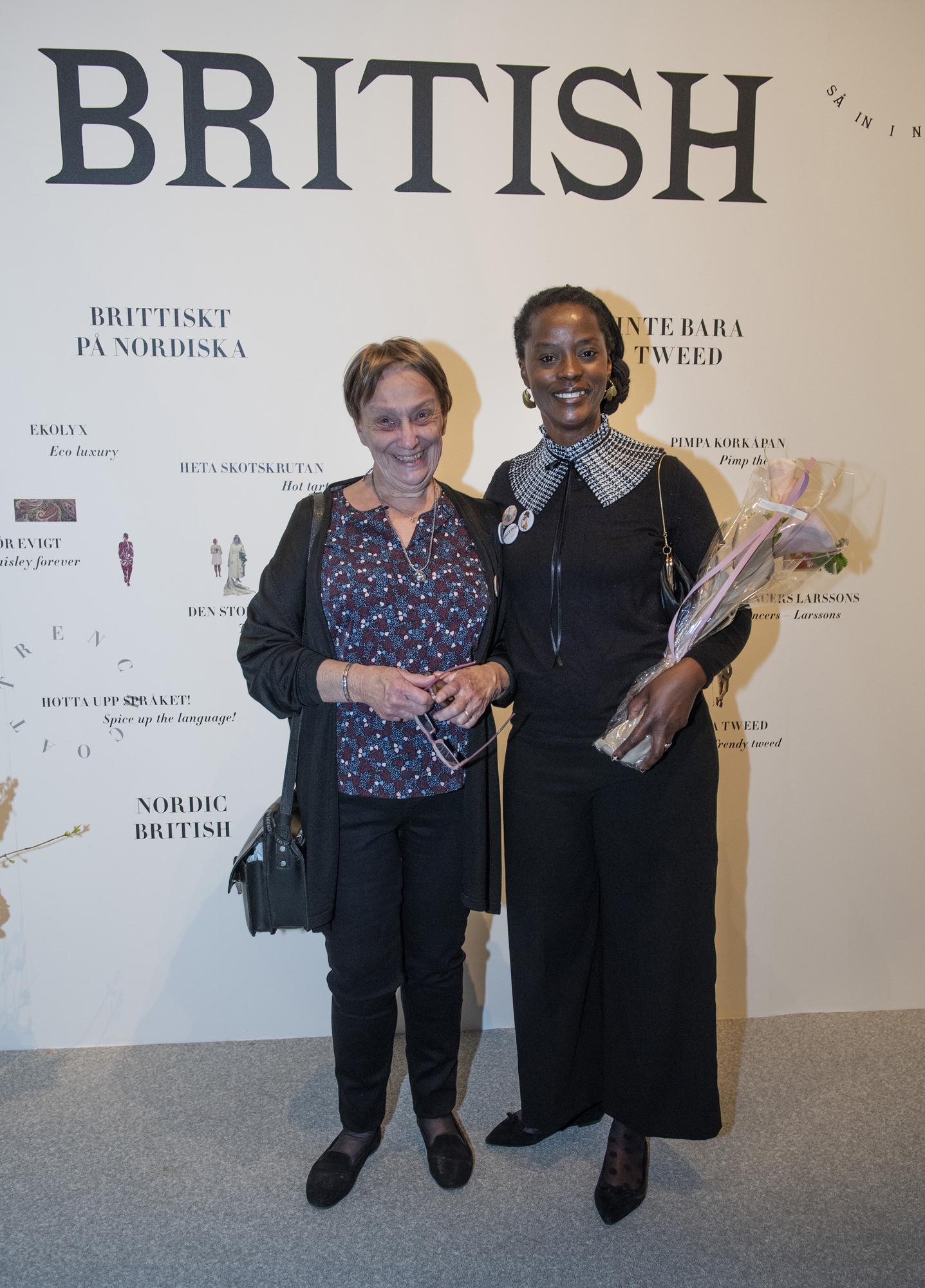 Marcia Harvey Isaksson med svärmor