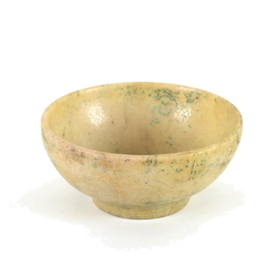 Jade bowl with inscription and stamp, China, 10th century Estimated price: 2,500-3,000 EUR