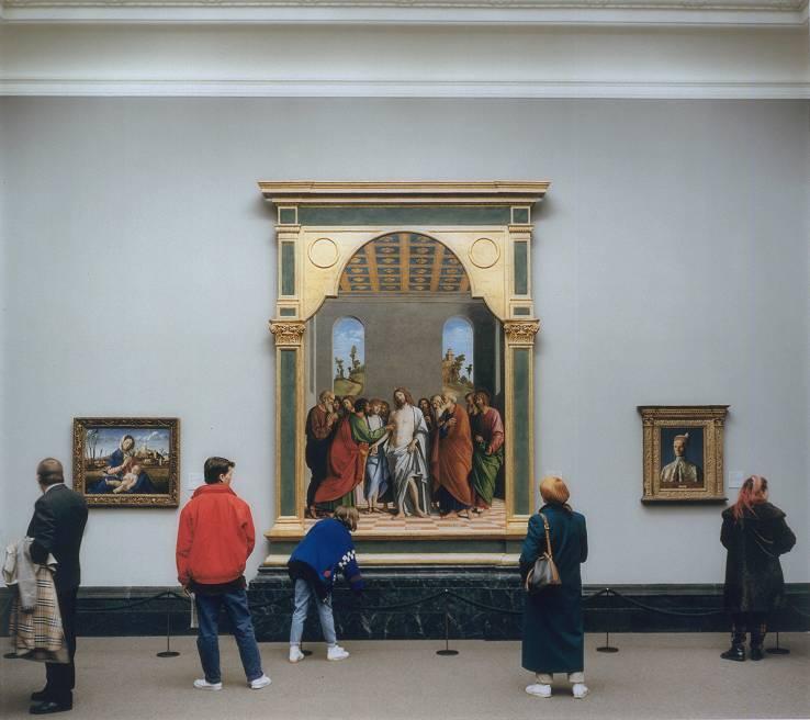 Thomas Struth, National Gallery I, London 1989