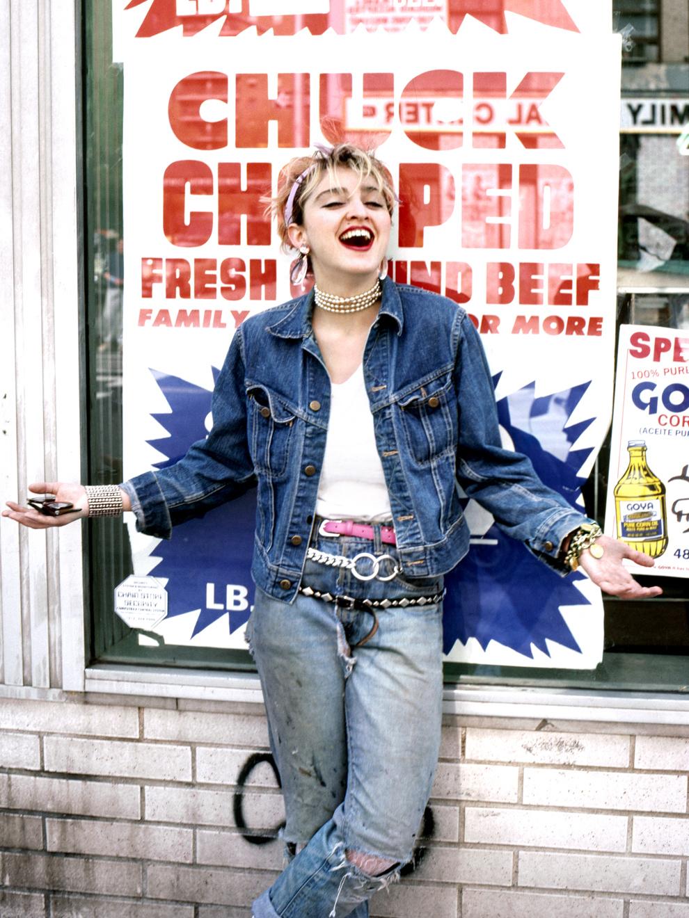Madonna's street style captured by Richard Corman Image via fashiondotblog.wordpress.com