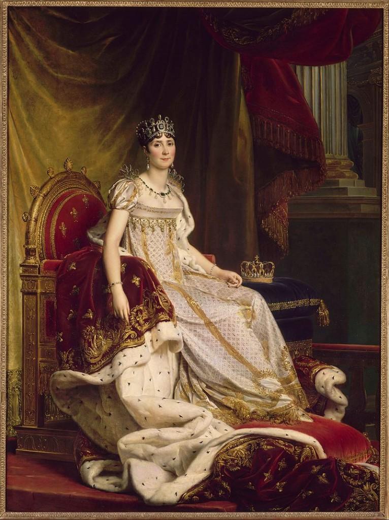 Kaiserin Joséphine de Beauharnais (1763-1814), Portrait von François Gérard Abb. via wikipedia.de