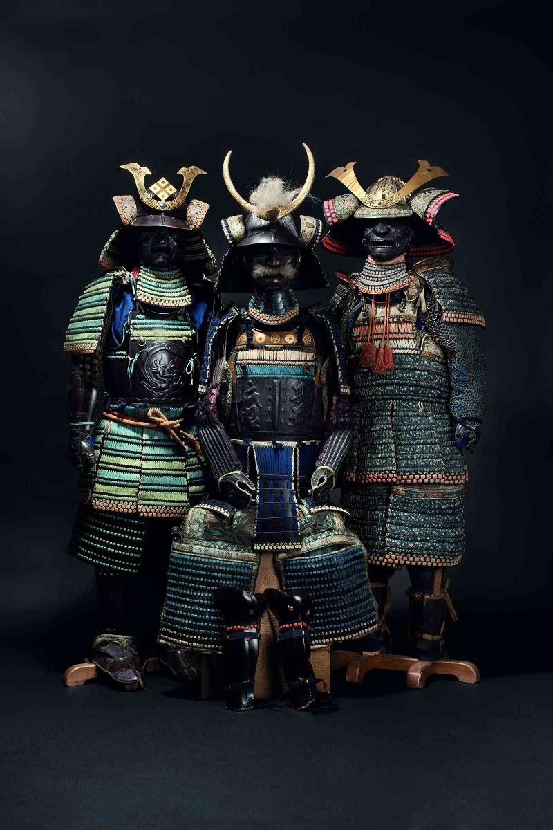 Derecha: Do Maru Gusoku, período de mediados Edo (c.1250). Precio estimado: 13.000 €