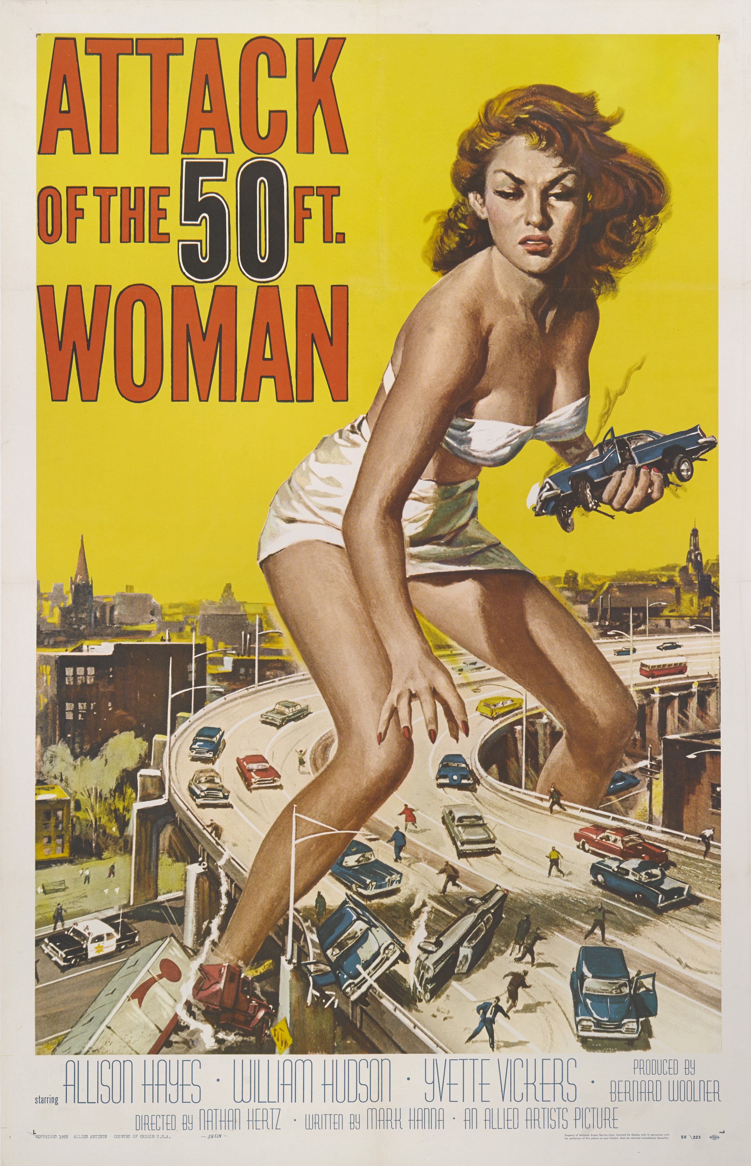 ATTACK OF THE 50FT WOMAN 1 SHEET_2