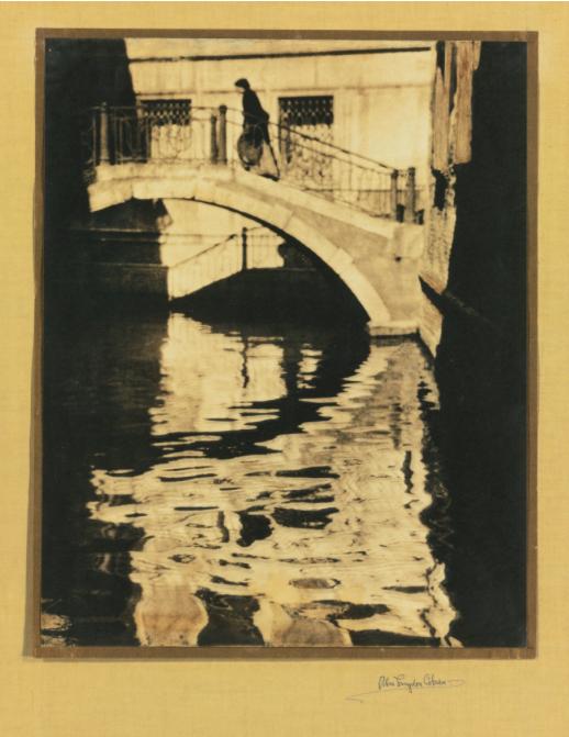 "Alvin Langdon Coburn ""Shadows and Reflections, Venice"" 1905"