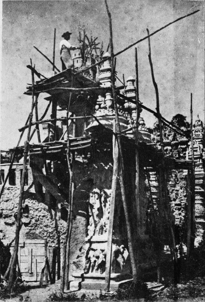 Facteur Ferdinand Cheval en 1890, image via WIkipedia