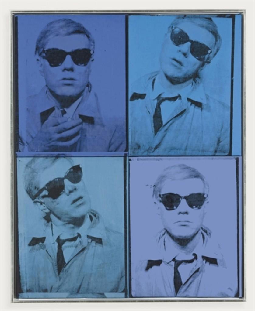 Autoportrait, fun des premiers, vendu chez Christies en mai 2011 pour 38 442 500 USD, image ©Christie's