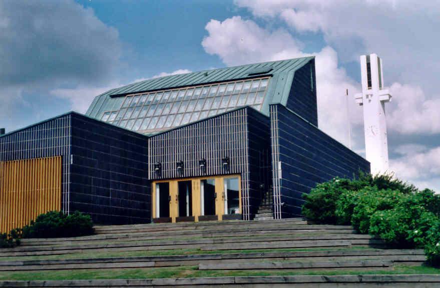 Stadshusets baksida i Aaltocentrum i Seinäjoki. Foto: Wikicommons.