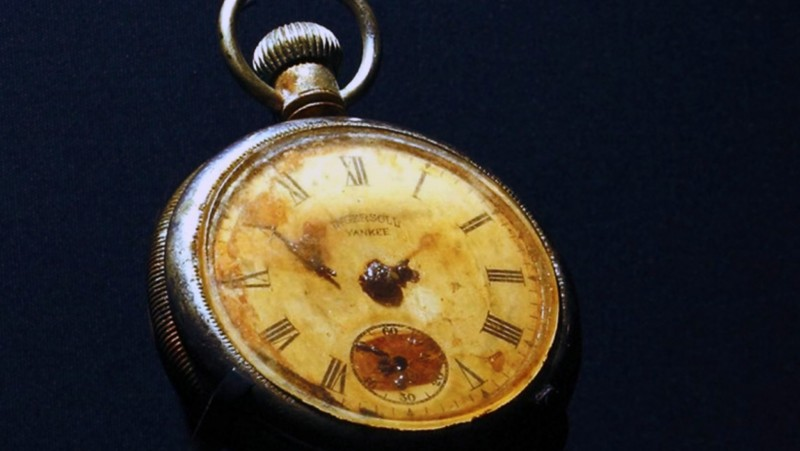 In 2008, Edmund Stone's pocket watch was the most expensive item from Titanic auctioned. Photo: Alux via Catawiki