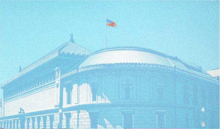 """Es besteht kein Zweifel, dass das Ölgemälde """"Corcoran"""" von Hsiang-Ning Han aus dem Jahr 1972 großartig ist, und das nicht nur in Bezug auf seine Größe. Das Werk wurde 1973 unter der Katalognummer 45 bei O. K. Harris Works of Art in New York ausgestellt. Der Aufrufpreis liegt bei ca. 20.000 Euro"""