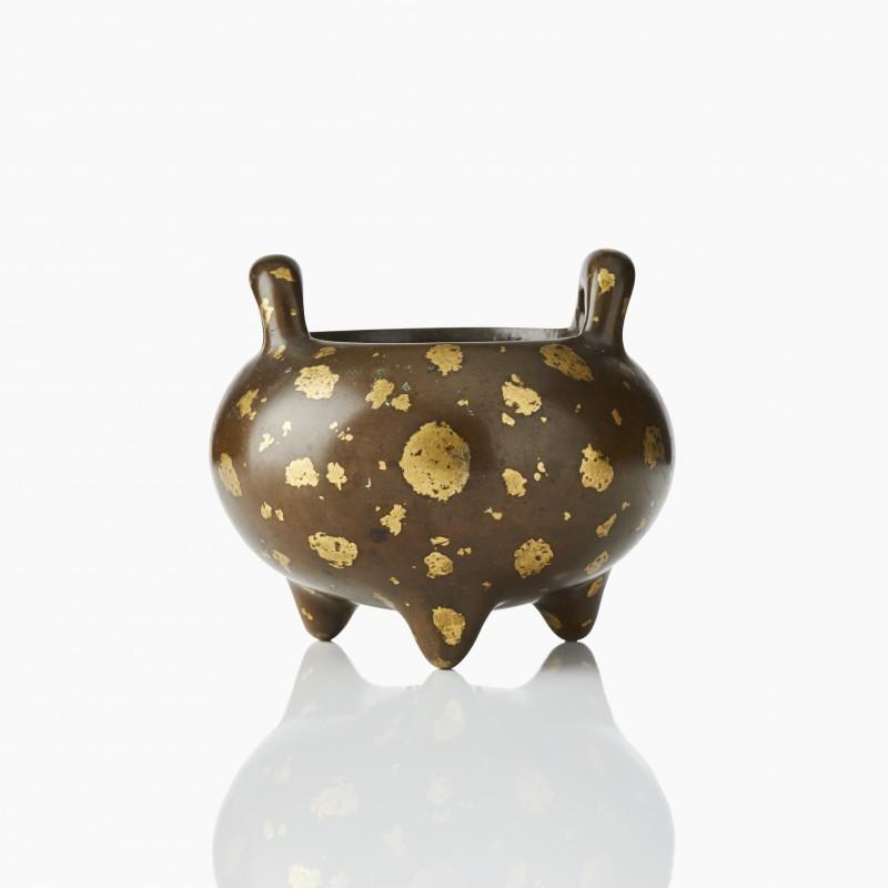 Teilvergoldeter Weihrauchbrenner aus Bronze, Schätzpreis 10.000-15.000 Euro