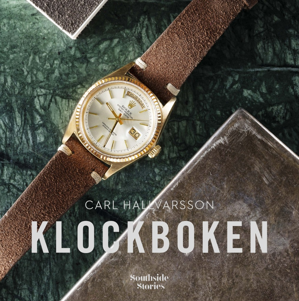 "Bookcover for ""Klockboken"" by Carl Hallvarsson(photo: Björn Qvarfordt)"