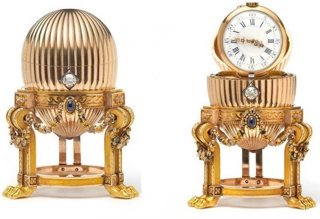 Ein Schrotthändler entdeckte dieses 24 Millionen Euro teure Fabergé-Ei auf einem Flohmarkt | Foto via ibtime.co.uk