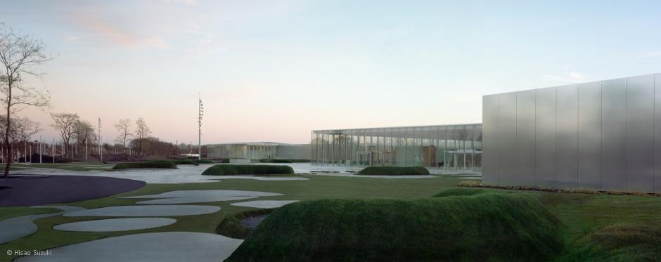 L'architecture moderne du Louvre Lens Image via louvre.fr