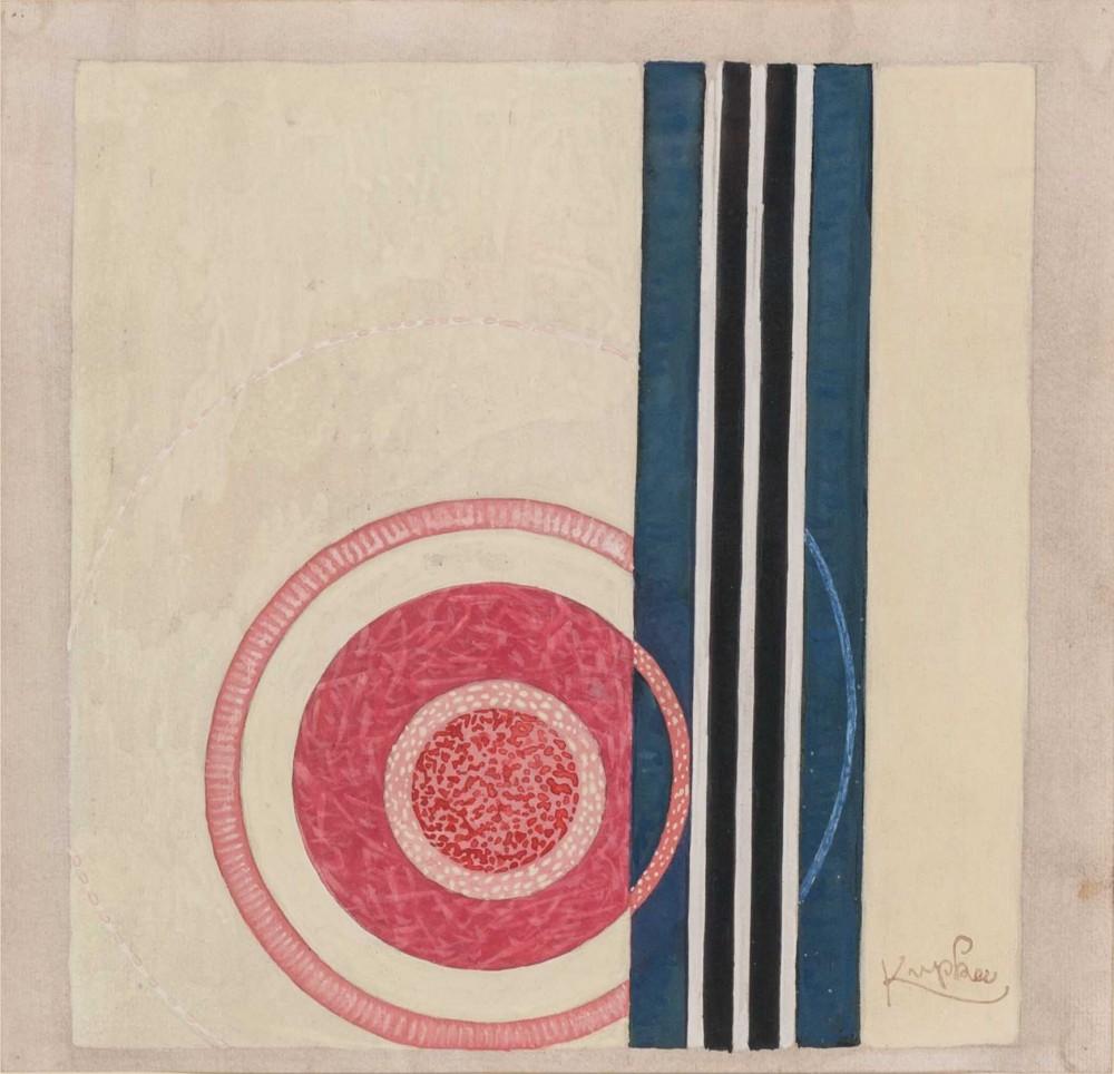 Frantisek Kupka, Etude pour Circulaires et Rectilignes
