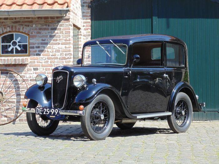 Austin, Seven Saloon, 1935. Utropspris: 120 000 - 157 000 kronor.