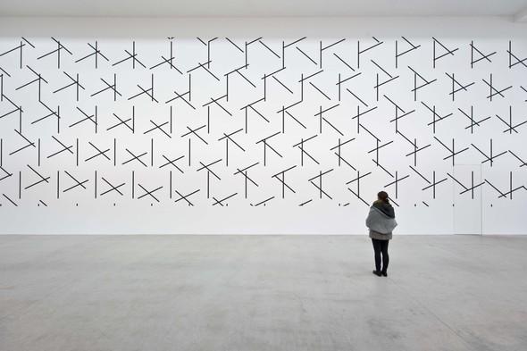 "François Morellet ""Dash Dash Dash"" Photo: Christian Gläser, 2015"