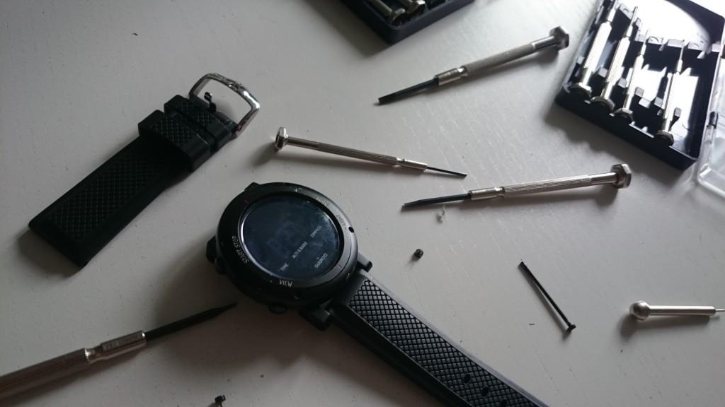 Strapchange and tool preparations!