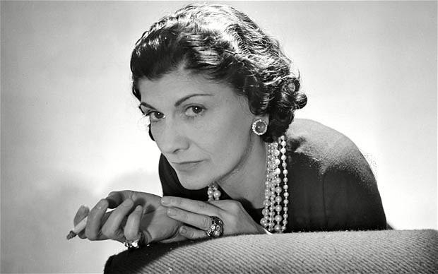 Coco Chanel (1883-1971) Image: Rex via The Telegraph