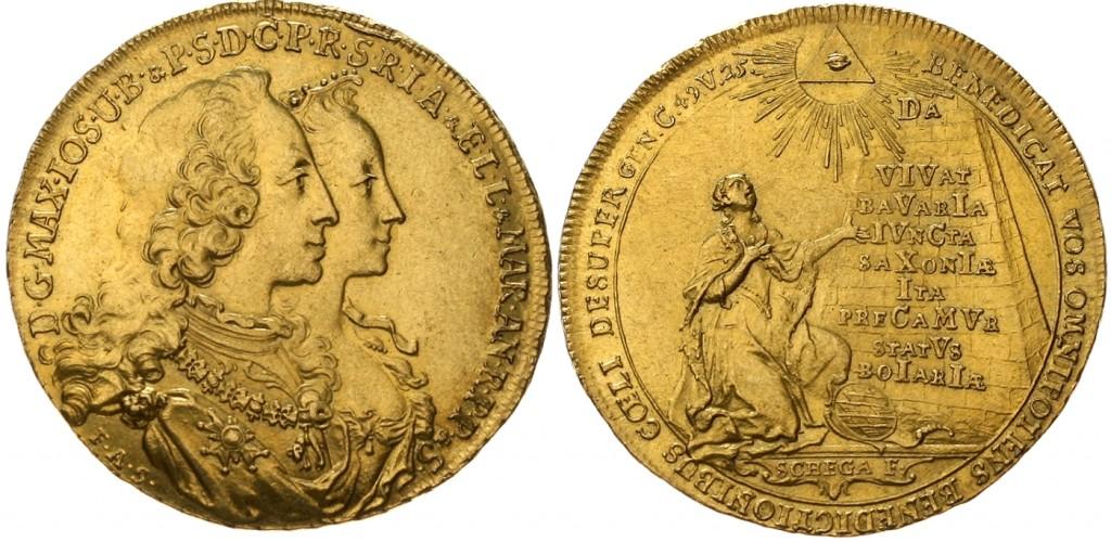 Bayern - Maximilian III. Josef (1745-1777) 5 Dukaten 1747 Schätzpreis: 7.500 EUR