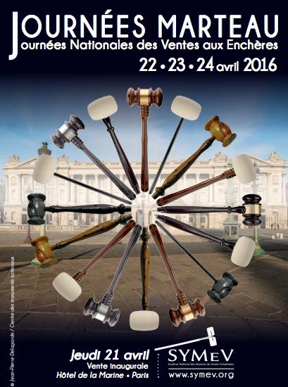 L'affiche 2016 des Journées Marteau Image via le Symev