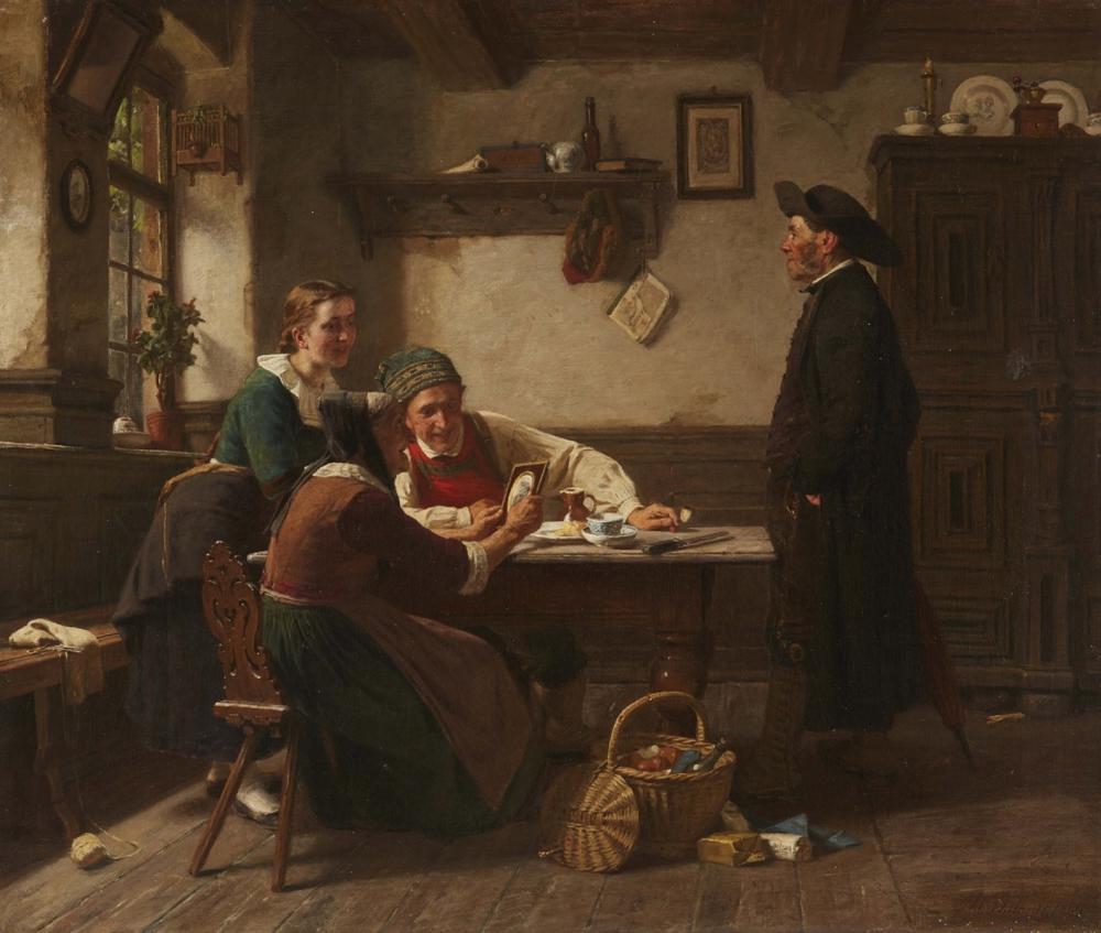 Hermann Plathner (1831 Gronau/Leine - 1902 Düsseldorf), Öl/Lwd., signiert und datiert, 1869 | Foto: Lempertz