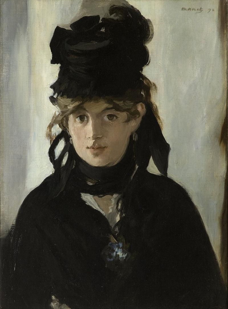 Édouard Manets Portrait von Berthe Morisot aus dem Jahr 1872