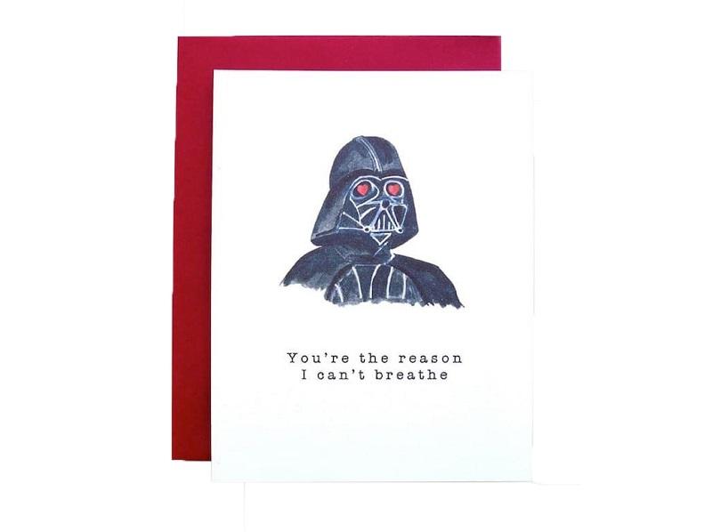 Tarjeta Star Wars