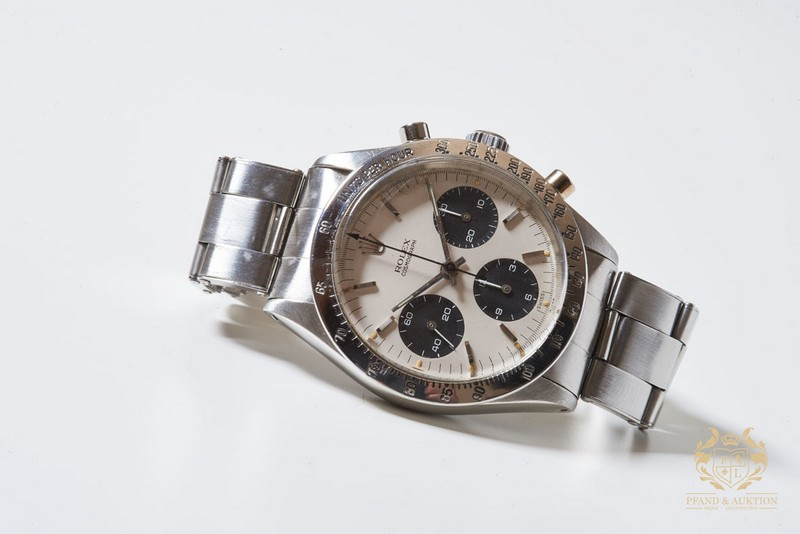 ROLEX Daytona Vintage Chronograph Double Swiss Panda. Edelstahl (1962)