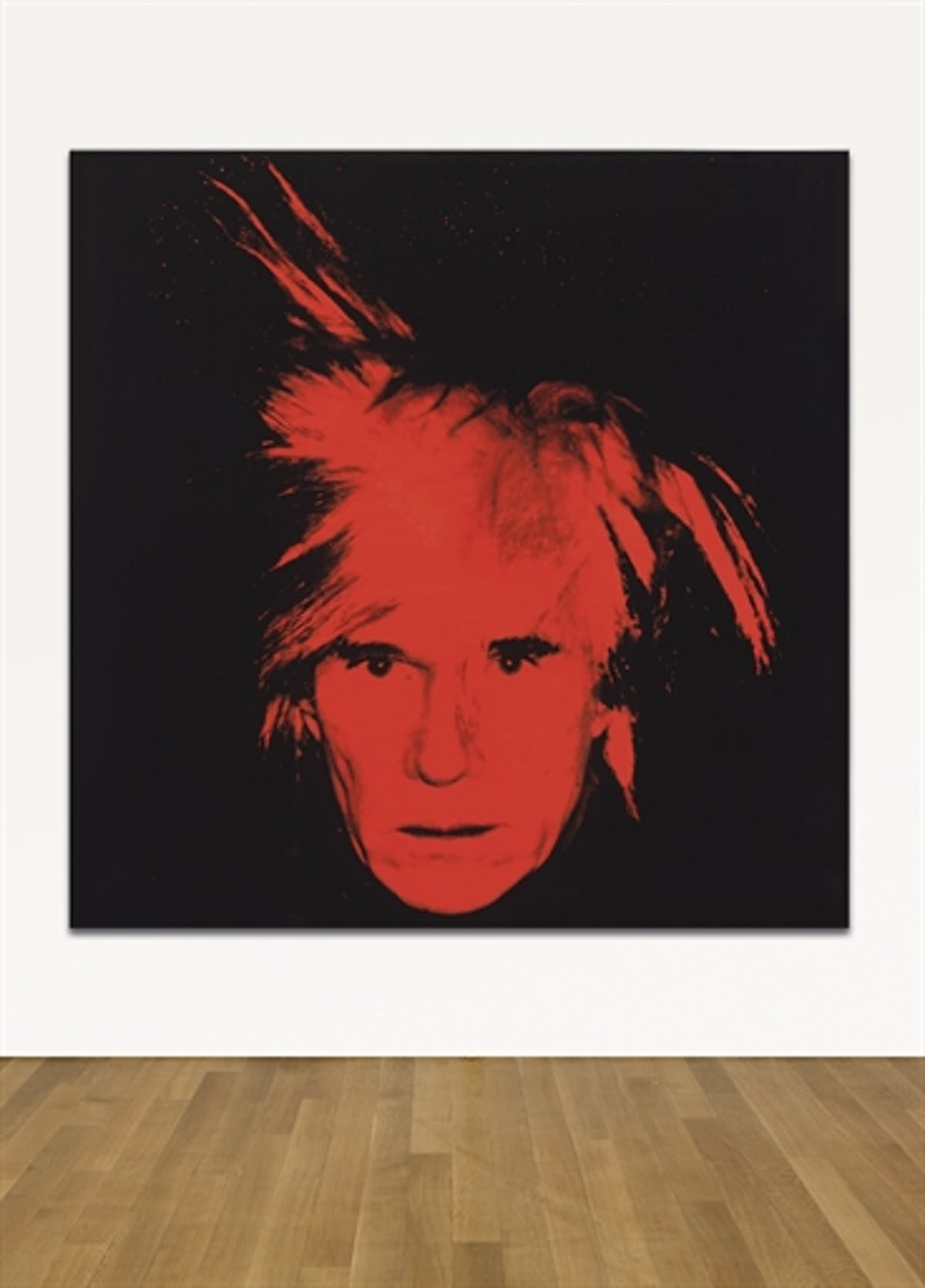 Andy Warhol, Self-portrait, 1986 | Foto: Christie's