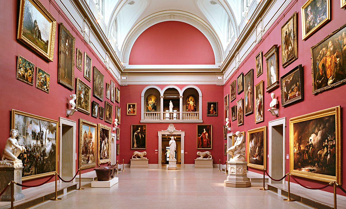 La grande salle du Wadsworth Atheneum, image ©Smith Edwards McCoy via Observer