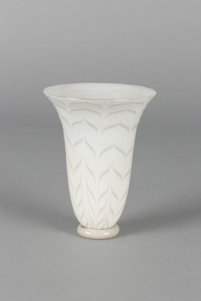 "CARLO SCARPA - Vase aus der Serie ""Fenici"", MVM CAPPELLIN, Murano ca. 1930 Schätzpreis: 8.000-10.000 EUR"
