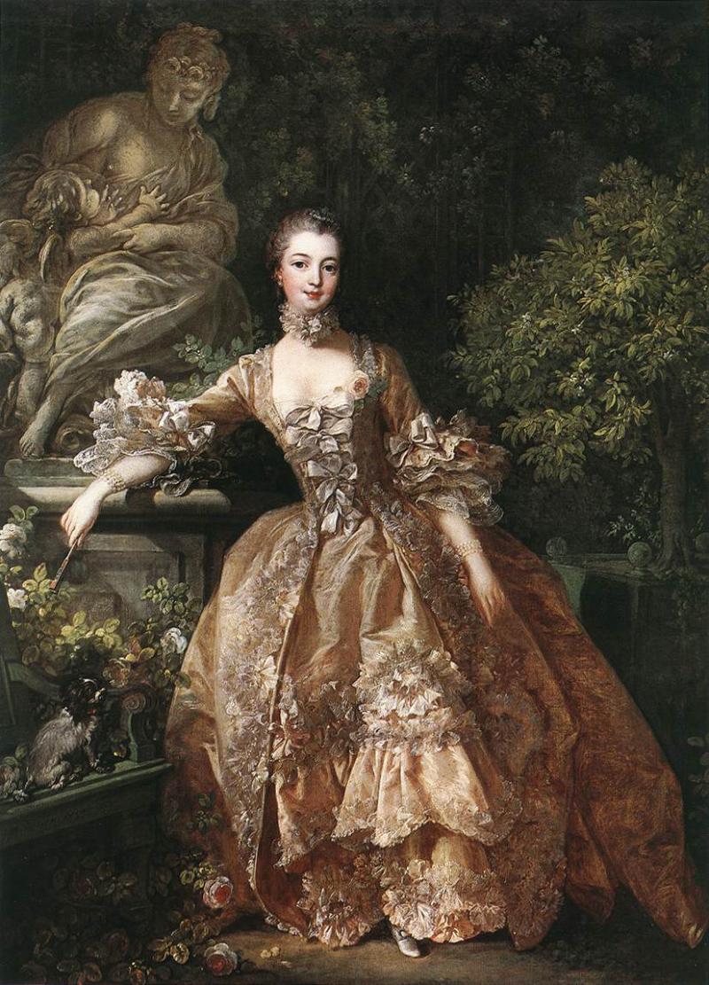 """François Boucher, """"Madame de Pompadour"""" (1759)"""
