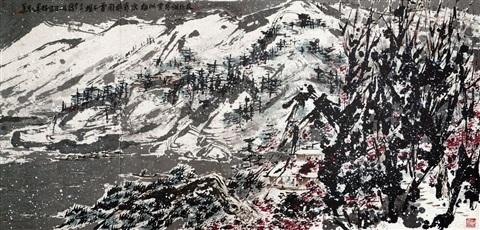 丹枫白雪 von 2006 machte Cui Ruzhuo zum teuersten lebenden Künstler aus China | Foto: Beijing Poly Auction Company