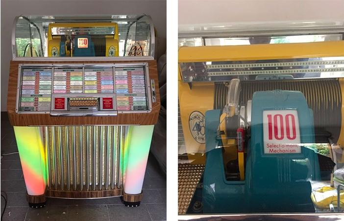 SEEBURG - Jukebox M 100 C, 1952