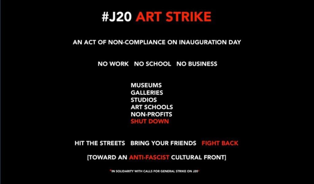 Image: #J20ArtStrike