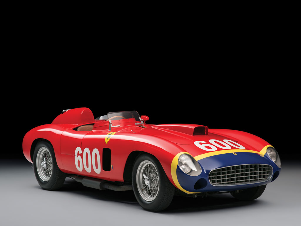 1956 Ferrari 290 MM by Scaglietti, 落槌價207,000,000 HKD 圖片取自:rmsothebys