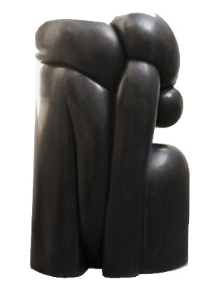 Wang Keping, Couple, 220 x 120 x 160 cm Boccara