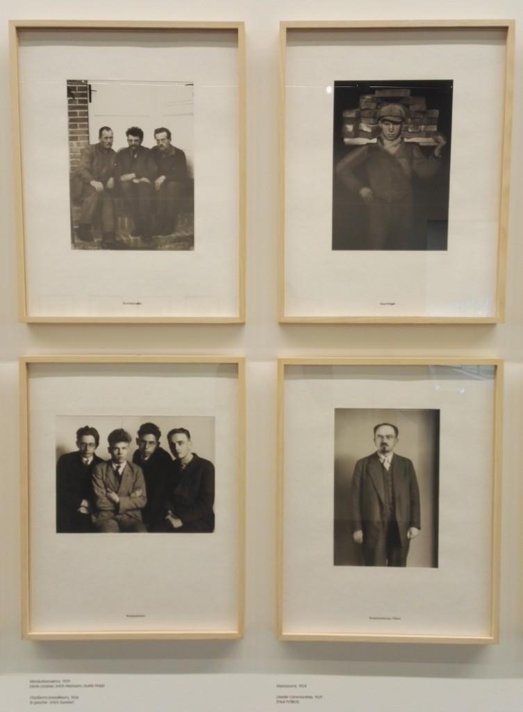 Série « Hommes du XXe siècle », détail