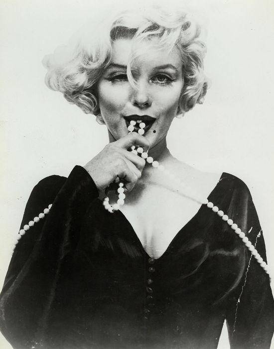 Attributed to Richard Avedon, 'Marilyn Monroe, Some like it hot', 1959 & c. 1956. Photo: Catawiki