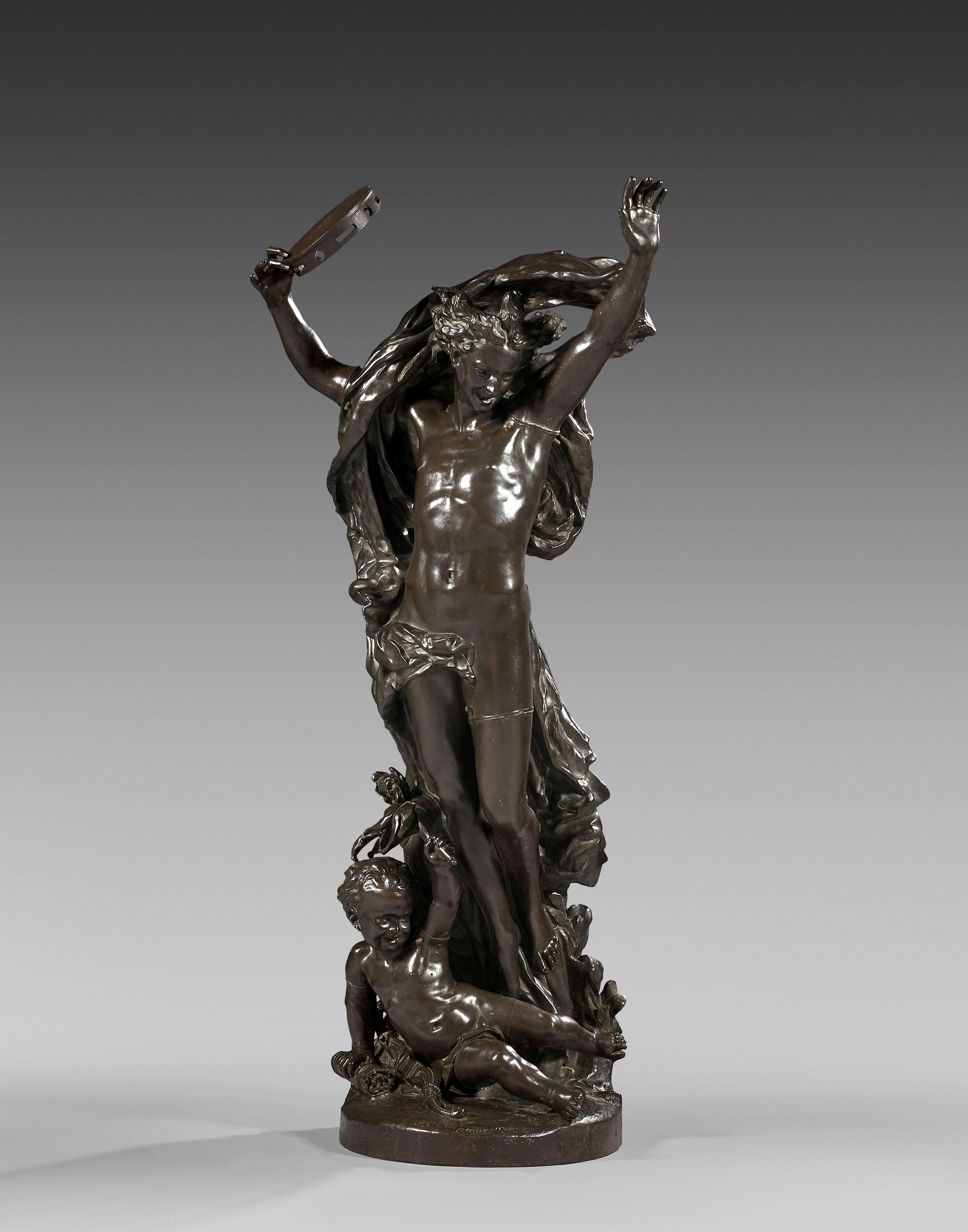 J B Carpeaux, 'The Genius of the Dance', bronze. Photo: Artcurial