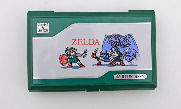 """Game & Watch Multiscreen """" Zelda - Link """" Nintendo - 1989 En vente chez Catawiki"""