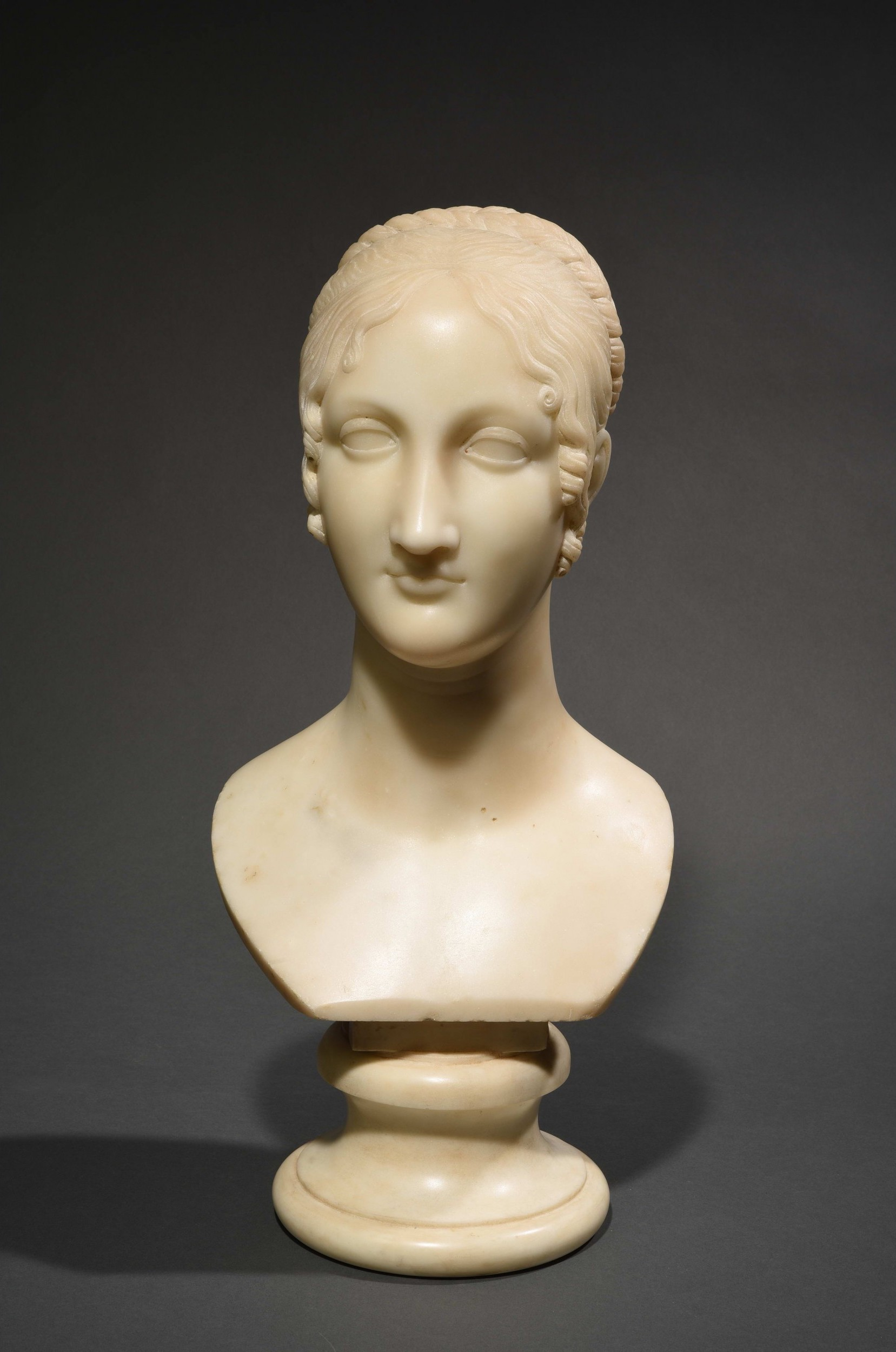 Antonio Canova, 'Lucrezia D'Este', 1821-22. Photo: © HVMC