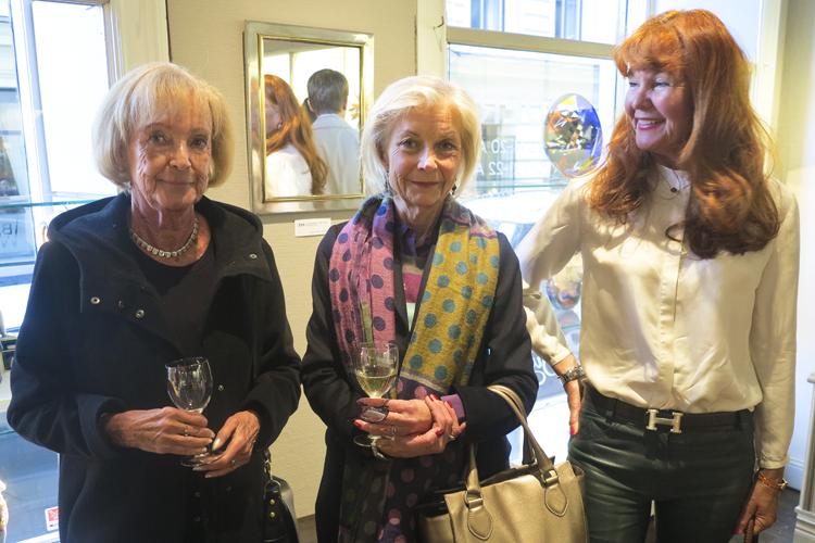 Birgitta Jurbrandt, Constance Nordmark & Marie Fellbom
