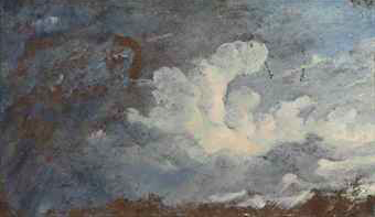 Storm Clouds over Hampstead, John Constable, R.A. (1776-1837).