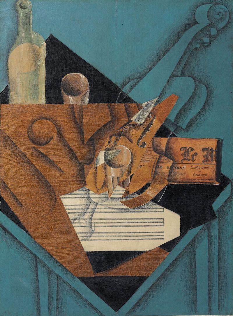 """I stort sett varenda målning i samlingen bär på """"museikvalitet"""". Juan Gris målning """"La table de musician"""" är ett av dem"""