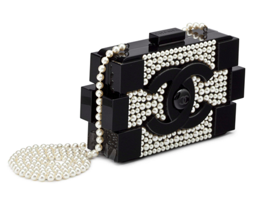 Chanel Clutch bag Lego black and white Christie's online only