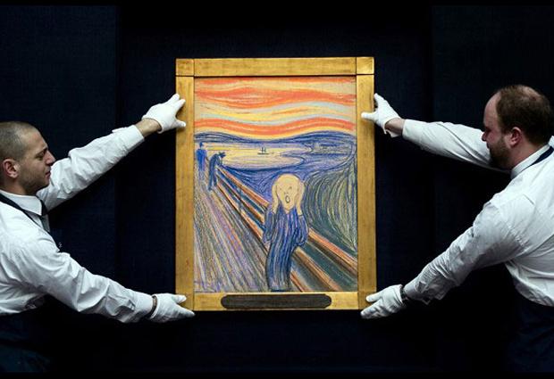 Edvard Munch, Le cri, version de 1895, collection privée