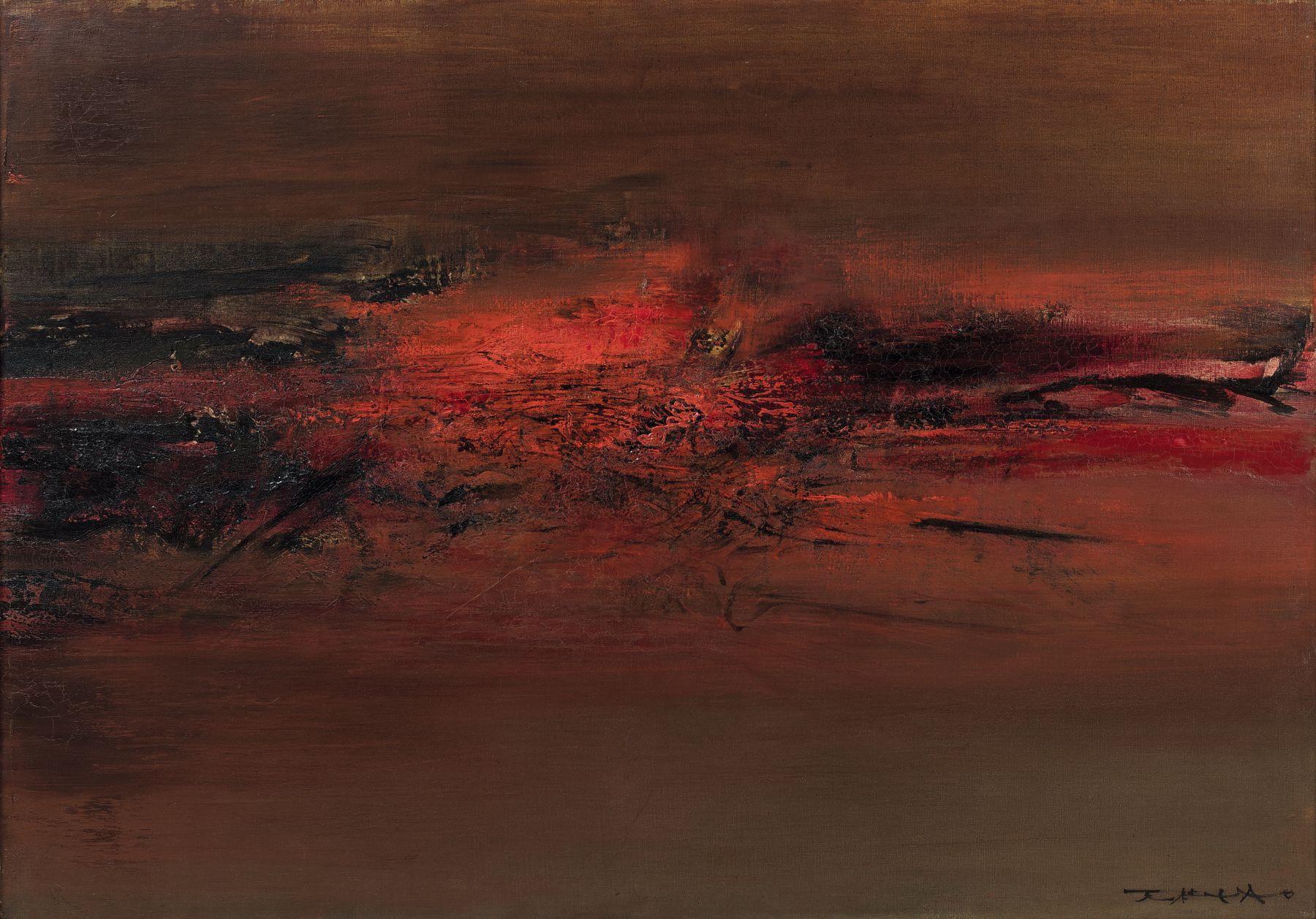 Zao Wou-Ki 14.05.62, 1962 Huile sur toile