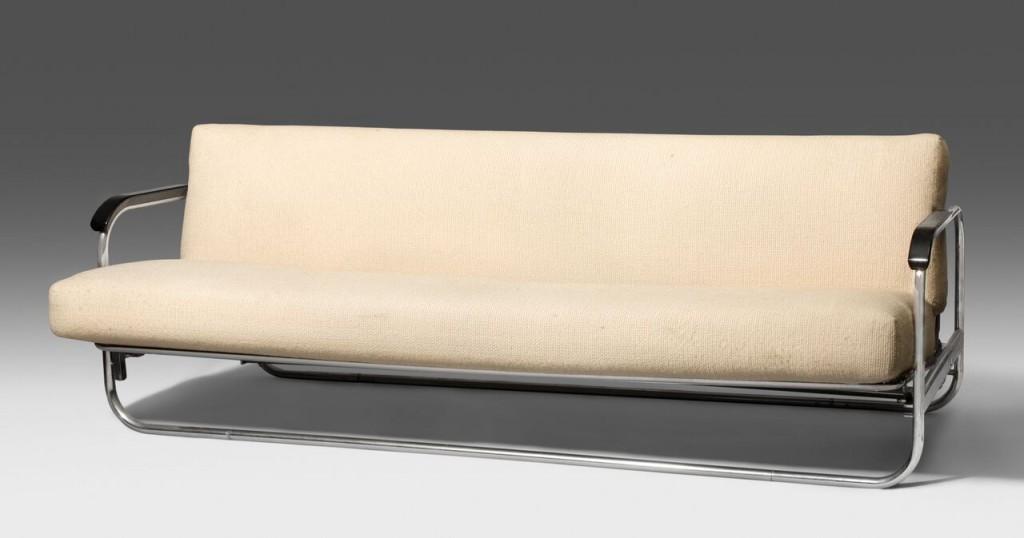 ALVAR AALTO - Bettsofa Modell 63, Entwurf 1930 Schätzung: 2.000-3.000 CHF (1.900-2.860 EUR)